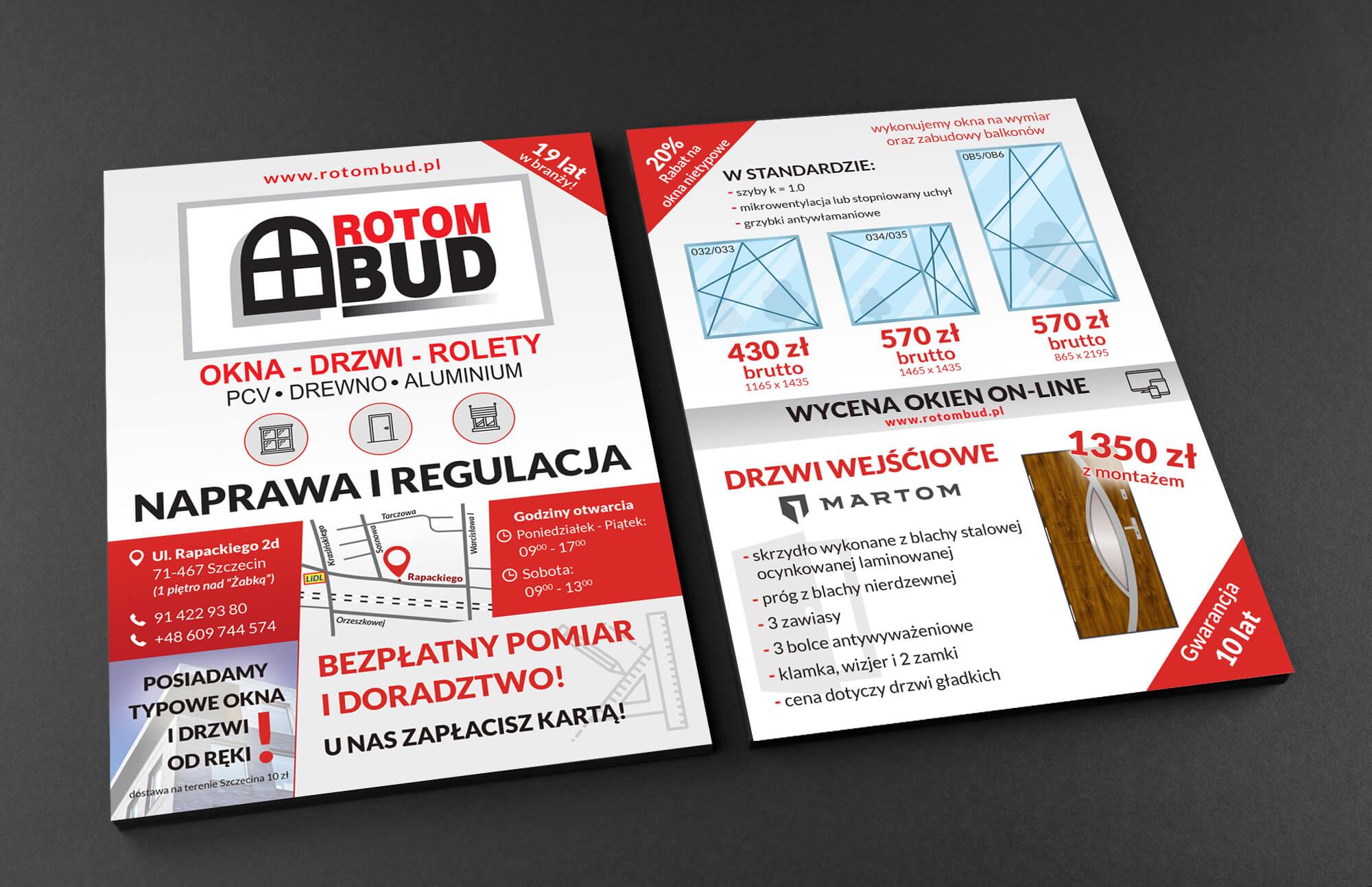 Rotompud Leaflet Mockup
