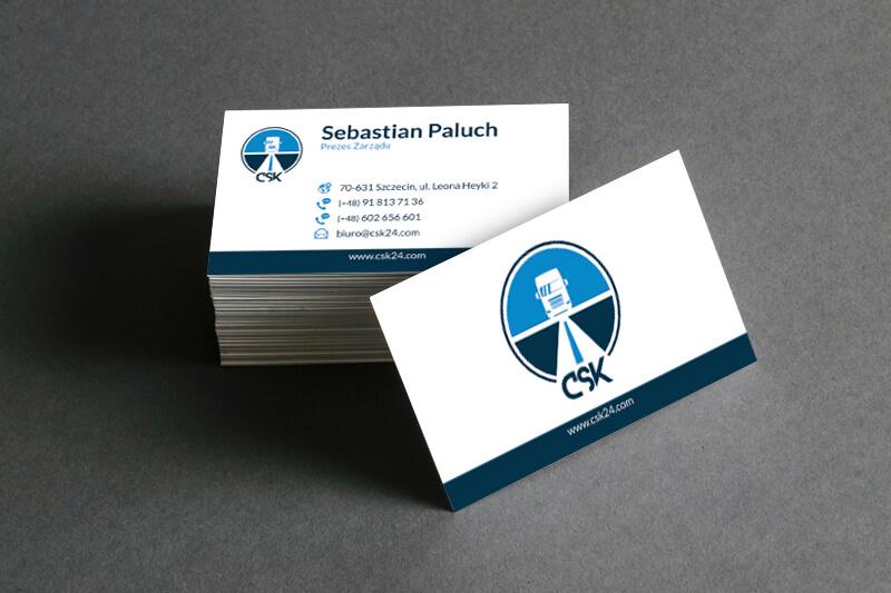CSK - wizytówki - Business Card
