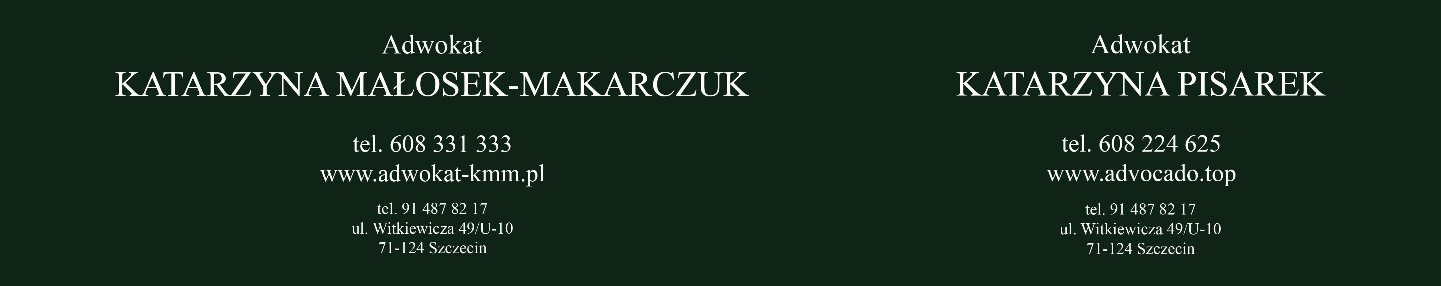 Szyld - 02 - 02 - wyśrodkowane napisy